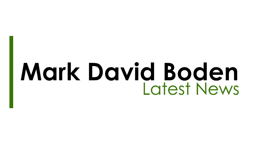 All of the latest news on performances, releases and press coverage for Mark David Boden's work