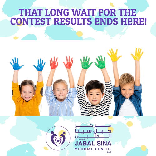 That long wait for the contest results ends here! Hope you enjoyed the Jabal Sina Medical Centre Coloring Competition. 