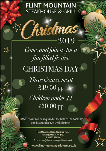 Christmas Day Lunch - SOLD OUT! Christmas Day Lunch 