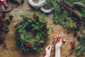 Christmas Wreath Masterclass Wreath masterclass with the wonderful Carla Barclay all for £35pp