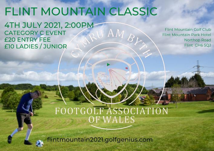 FOOTGOLF - Tournament 04/07/2021 Join us for our opening and first tournament 4th July 2021 - £20 per player, £10 Ladies & Juniors