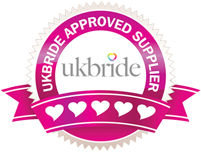 UK Bride Approved Supplier Now taking bookings for Weddings in 2022-2023