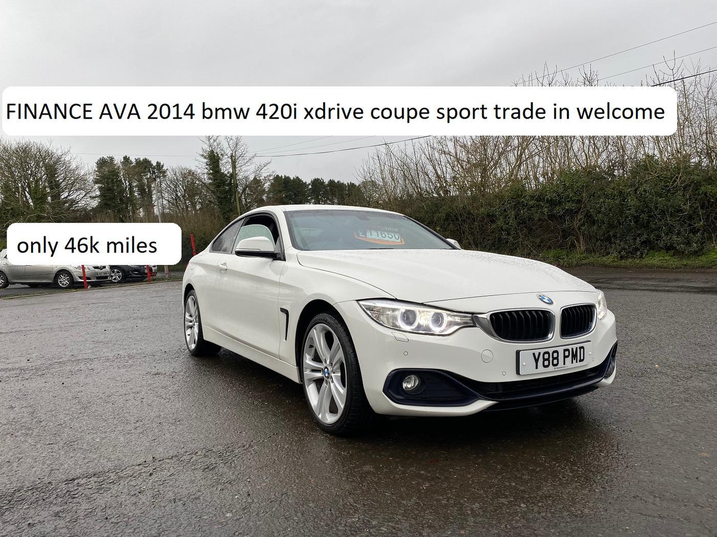 bmw 420i coupe sport