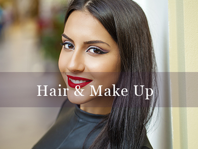 Hair and Makeup We are experts in hair and makeup here at Bespoke Beauty by RH. We can help with hair styling, makeup application and bridal services. With over 10 years of experience we have the skills to help you get the perfect look for your special day.