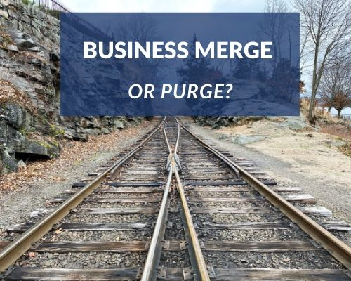 Business Merge or purge?  Surviving the post lockdown period in business Business merging with a competitor or a company in a related sector may be the way to go post lockdown and can make sense for a number of reasons.