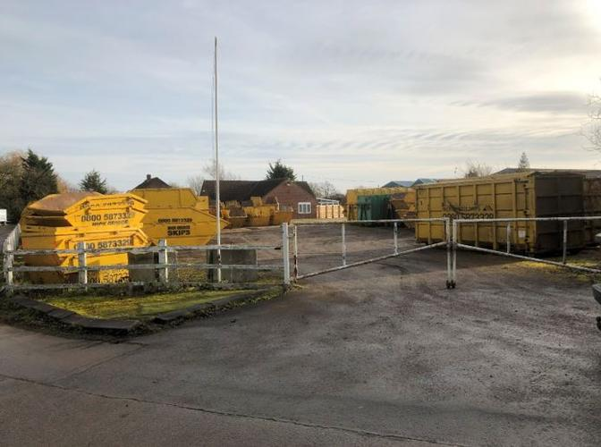 HGPC Update December 9 2019 To our knowledge no application has been submitted. A very large number of skips have been placed  in the Golf Club Car Park over the last fortnight. Last Friday this had grown to a total of 45 as shown by this photo.
