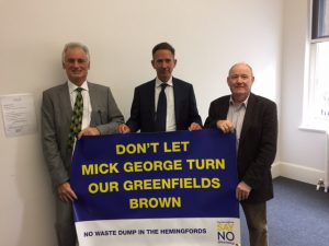 Local MP Jonathan Djanogly is backing our campaign. A very successful meeting with our local MP Jonathan Djanogly.