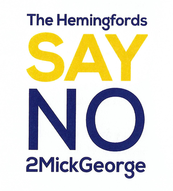 SayNO2MickGeorge Hemingfords Action Group Hemingford Cambridge