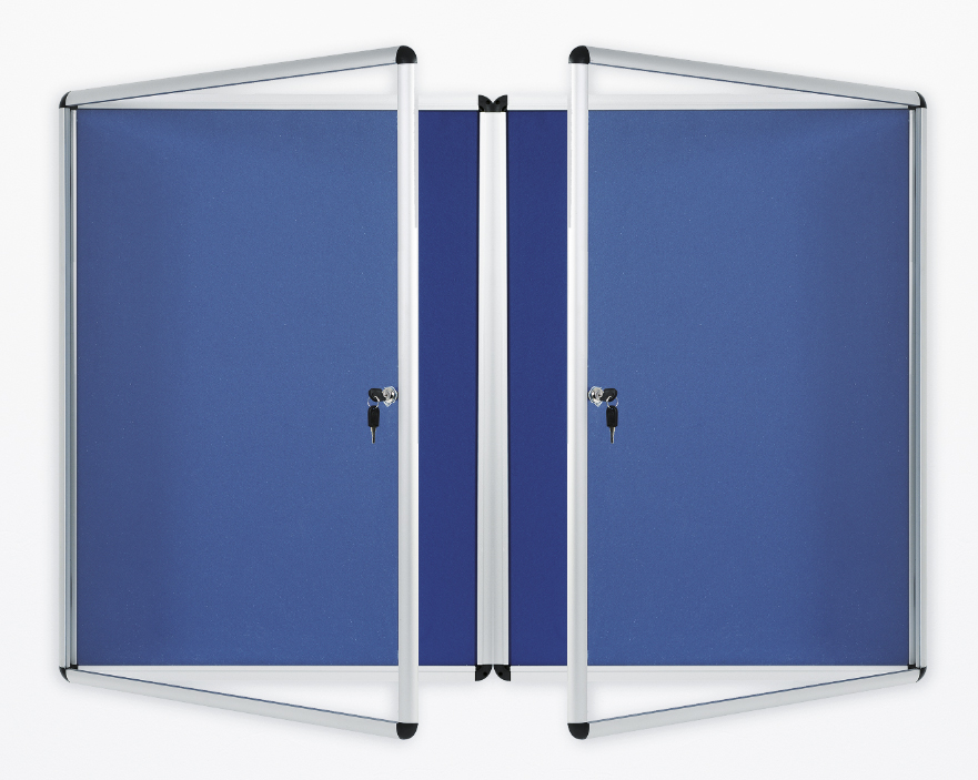 ACADEMY LOCKABLE INTERNAL  TAMPERPROOF DISPLAY AND NOTICEBOARDS