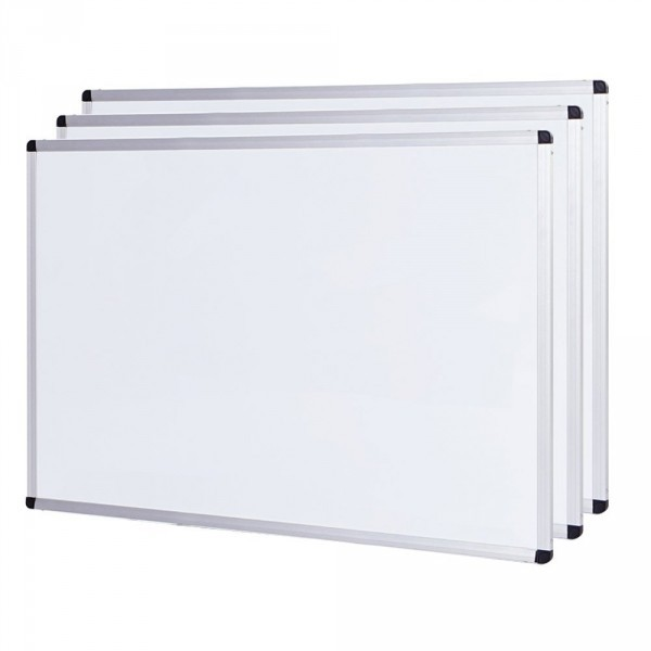 ALUMINIUM FRAMED MAGNETIC DRYWIPE WHITEBOARD