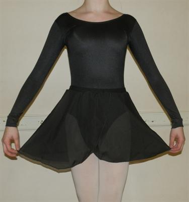 Girls Ballet Long Sleeve Leotards
