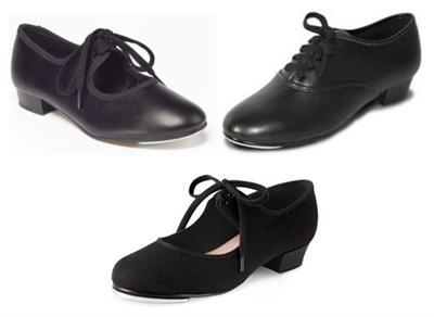 Black Canvas Tap Shoes