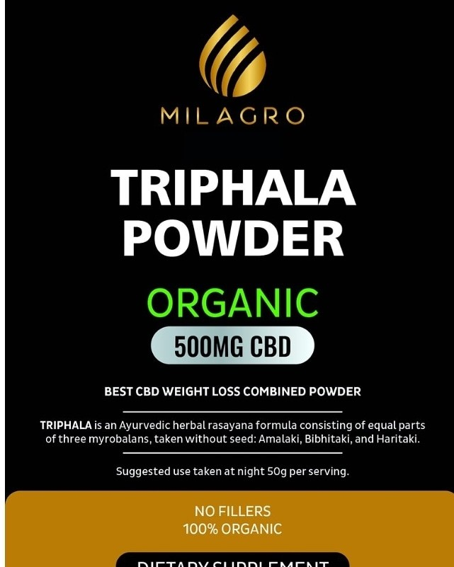 Triphala CBD Powder