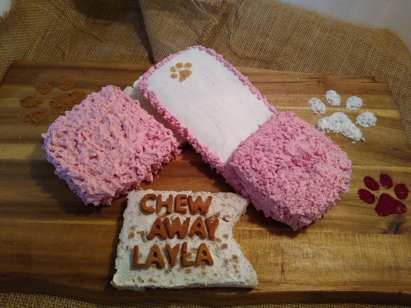 -Slippers- Birthday cake