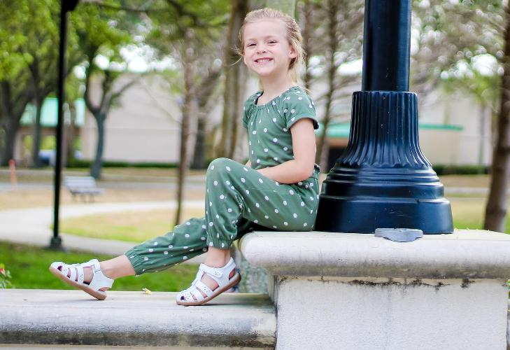 Spring Footwear Does your child have on the right set of footwear this spring? If not, am here to remedy that. We all know how a shoe can make or break a person, if you don't, ask Cinderella. Shoes carry the person in it and changes one's whole appearance.