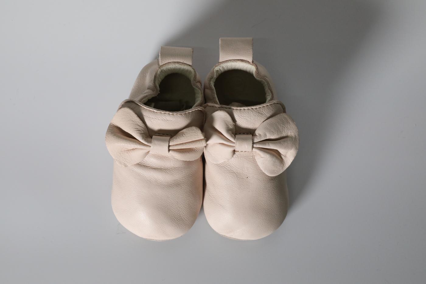 Comfy Cream infant shoes
