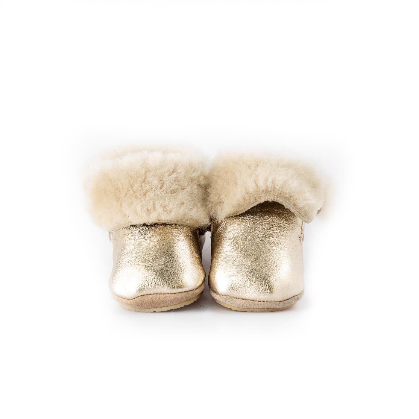 Platinum Fur Boots