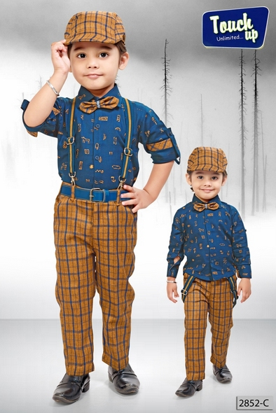 Shirt and Trousers Set