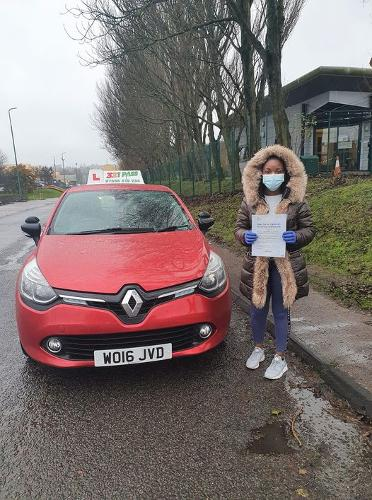 A early christmas present for Andrea  first time with only 2 minors!!