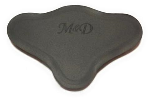 Black M-D Small Back Pad