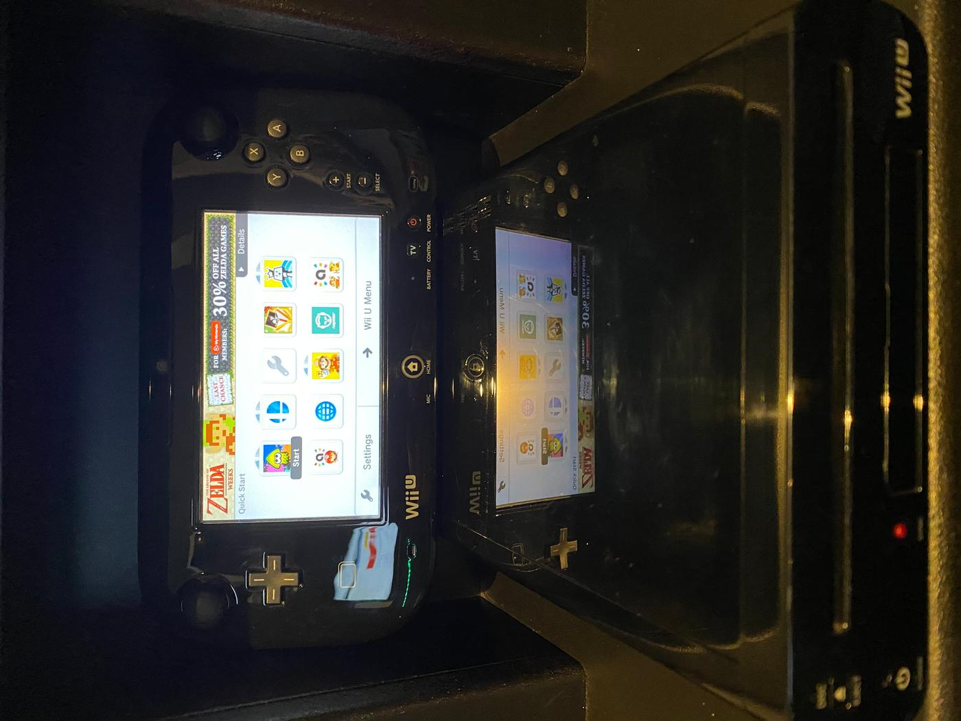 Premium Black Wii U