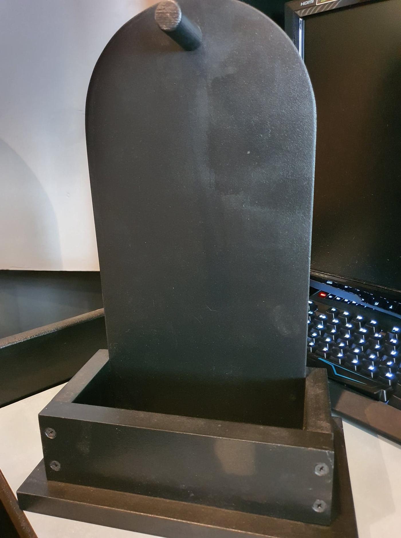 Handmade Headphone + Controller Stand