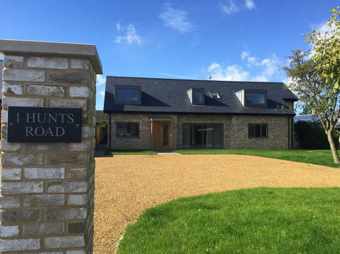 Chalet bungalow new builds, Duxford These well-received chalet bungalows built in the heart of the beautiful South Cambs village of Duxford were specifically designed to sit sympathetically in the village while delivering a modern, high quality and environmental spec.