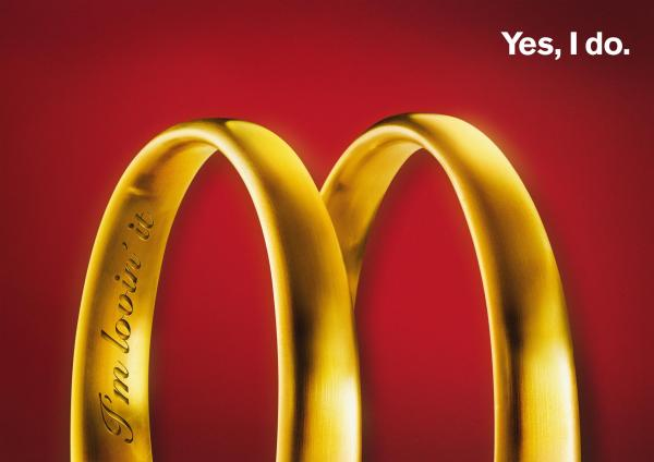 The letter that's worth its weight in gold. Like them or love them, McDonald's branding is a shining example of how ads should work.