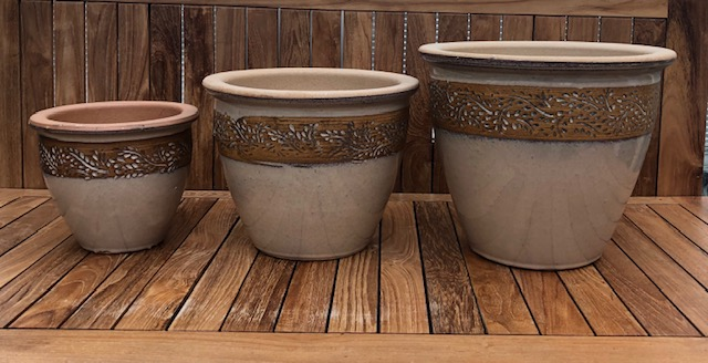 Glazed Pot Set