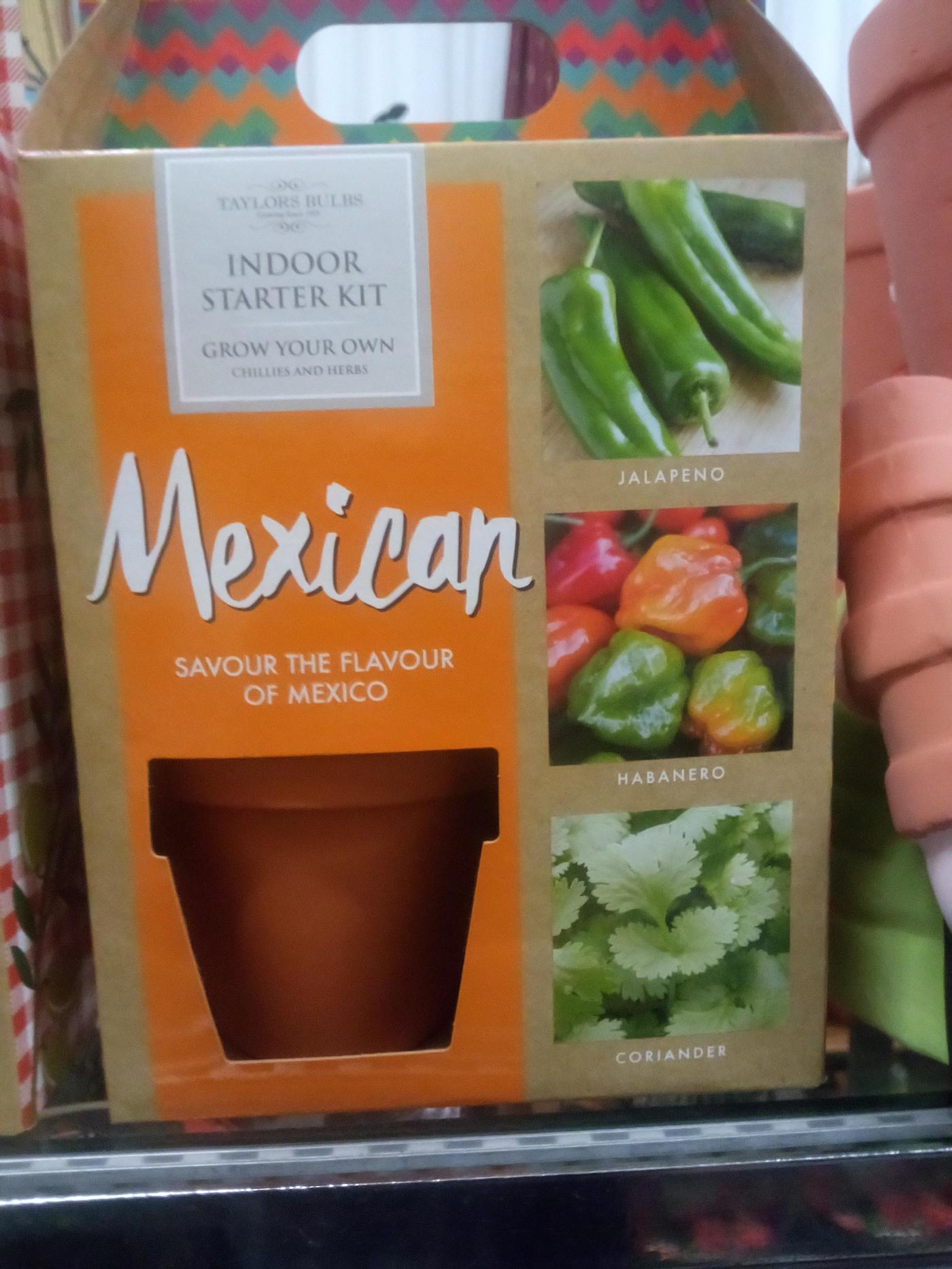 Mexican Herb Kit