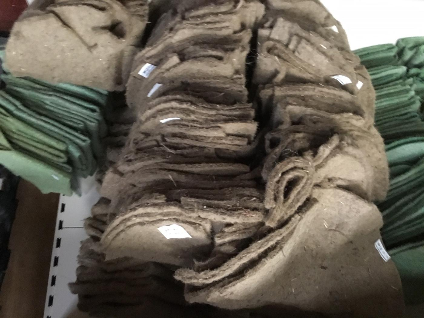 Wool basket liners 12 inch