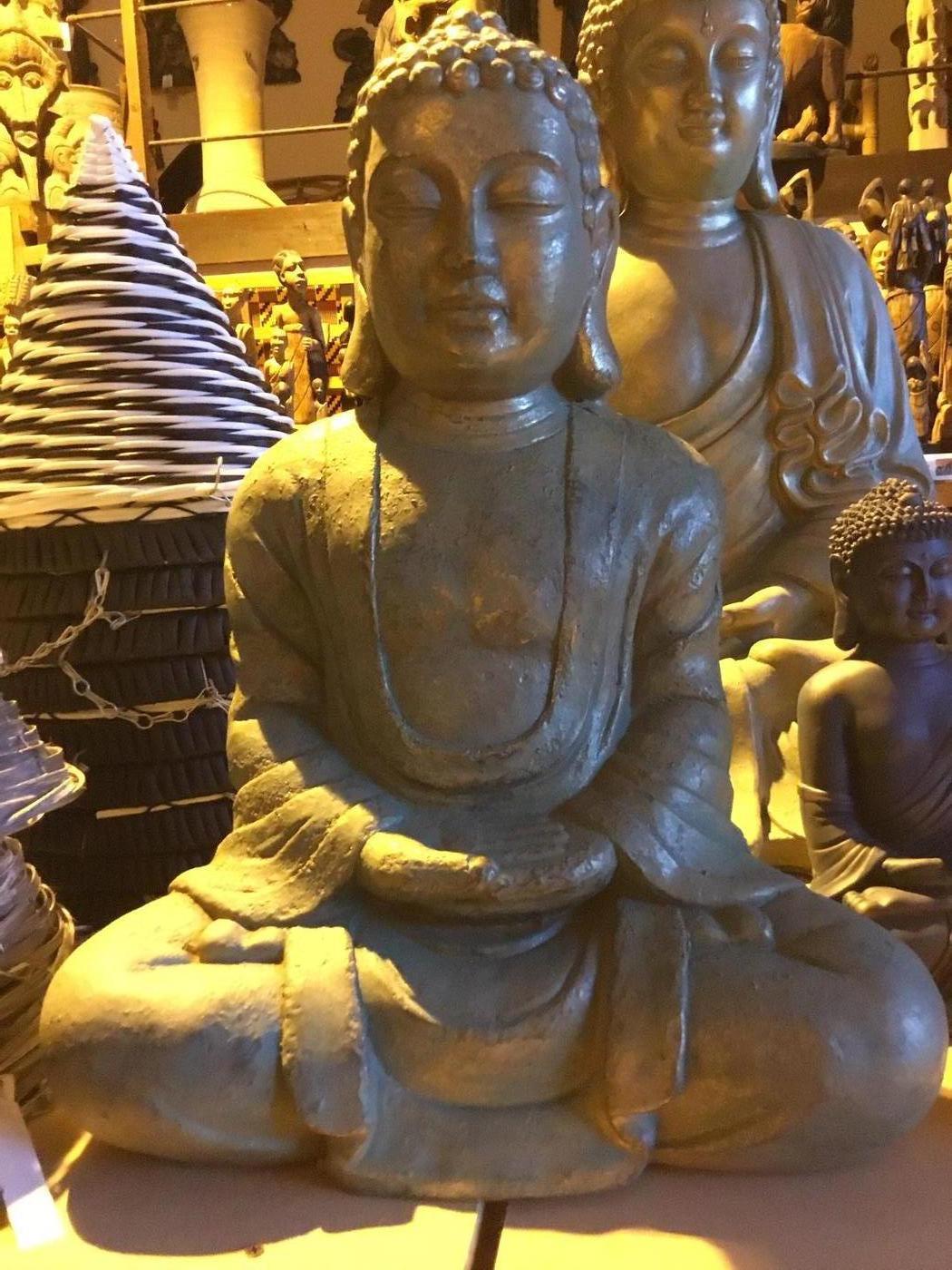 Large Buddha sitting