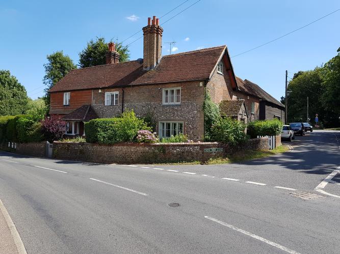 Randiddles Cottage and Danny Corner Hurstpierpoint.  Building Surveys.