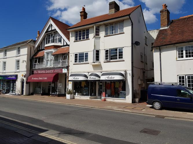 High Street Hurstpierpoint.  Building survey and Freehold investment valuation.