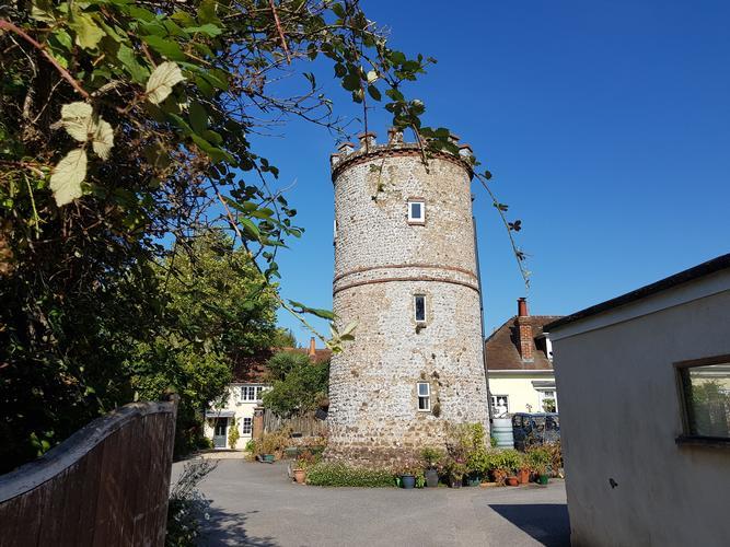 The Tower West Furlong Lane Hurstpierpoint. A Victorian folly.