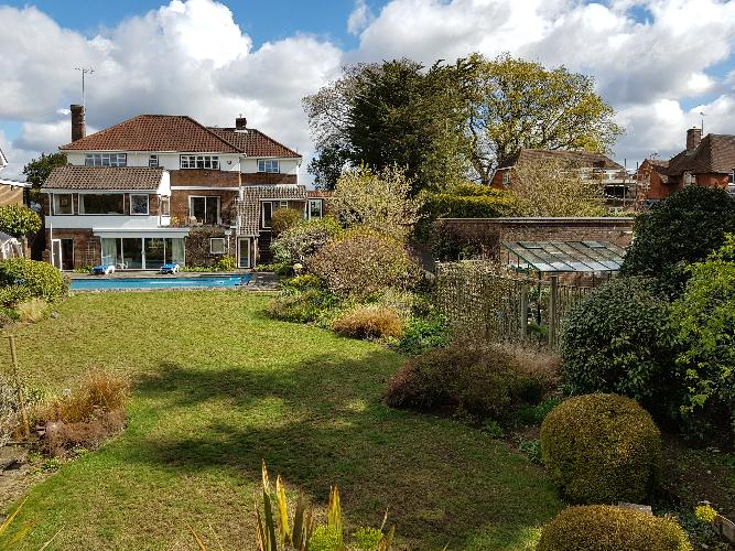 Sandycoombe Hurst Road Hassocks. Building survey at this detached property extended on 3 levels.