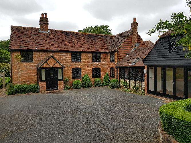 Streeters Farm Fletching Common Newick. Building survey at this extended period house.
