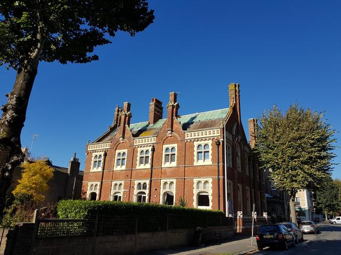 Fourth Avenue Hove.  Grade 2 Listed building.