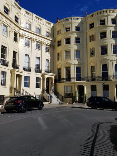 Brunswick Square Hove.  Grade 2 Listed building.