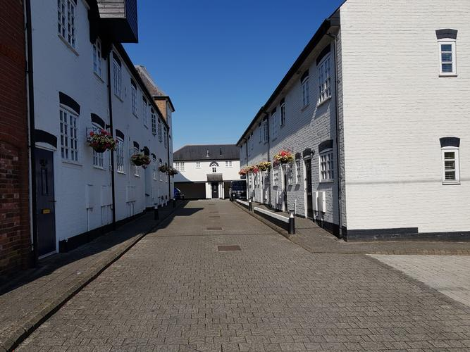 Brewery Mews Hurstpierpoint. External painting and repairs.