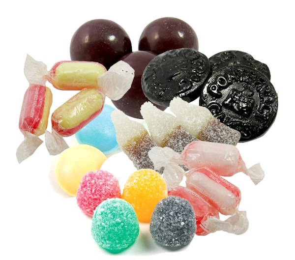 1kg Classic Retro Mixed Vegan Sweet Bag