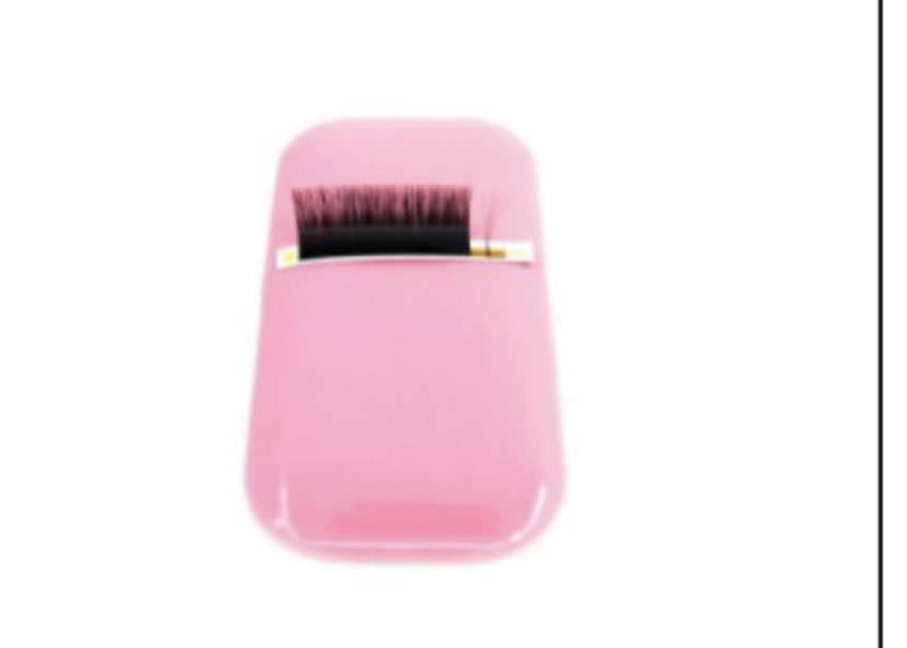 pink silicon lash holder