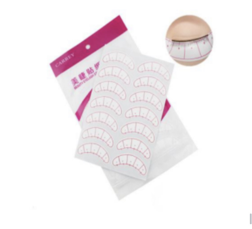 Under eye mapping eye pads