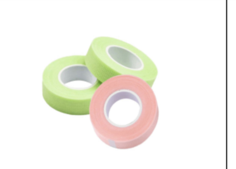 pink/green tape