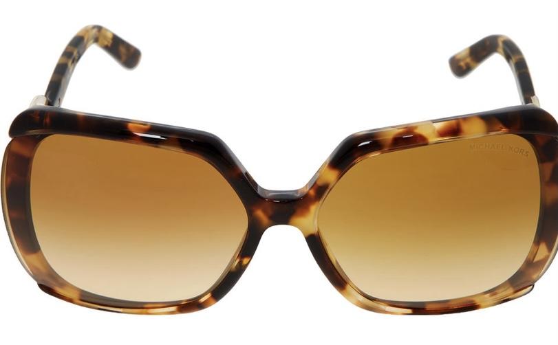 Michael Kors Brown Tortoise Shell Sunglasses