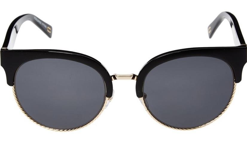 Marc Jacobs Black Preppy Sunglasses