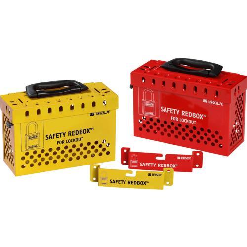 Safety REDBOX Group Lockout Box