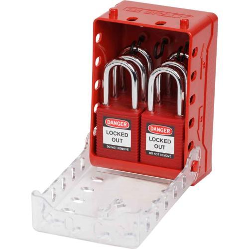 Ultra Compact Lock Box with 6 Safety Padlocks