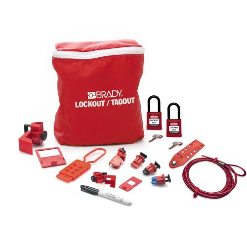 Electricians Lockout Kit with Padlocks