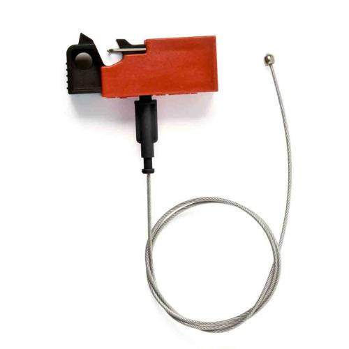 Snap-on Lockout with Cable